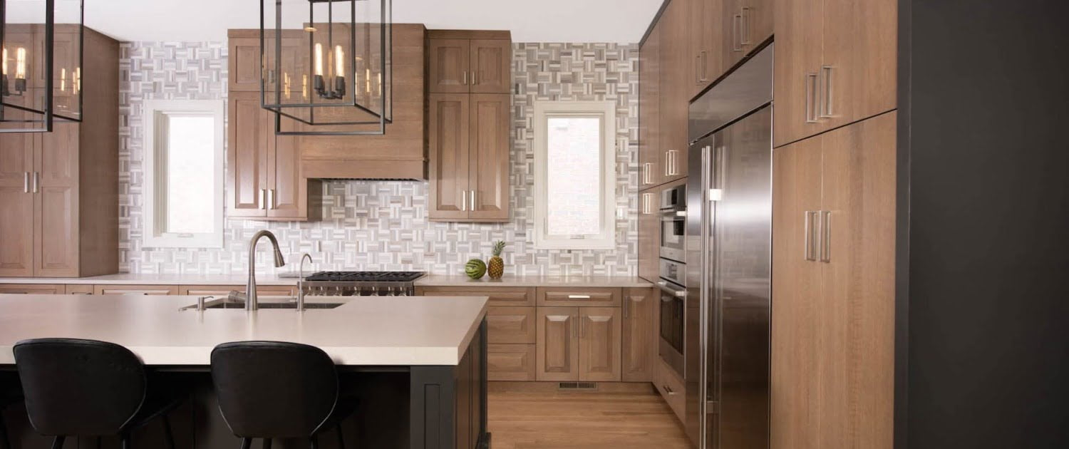 Floor To Ceiling Kitchen Cabinets Dura Supreme Chicago IL Irving Park