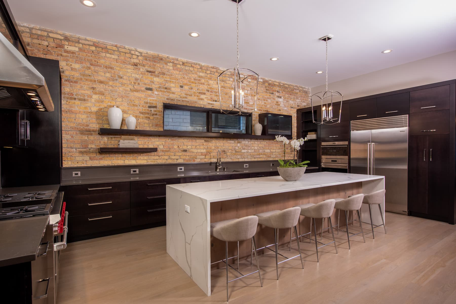 Island Countertops New Cabinets Lincoln Park Chicago