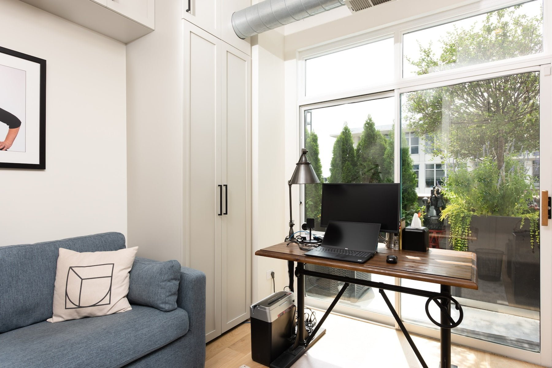 west loop chicago il home office cabinetry design storage